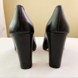 Banana Republic Shoes - Banana Republic Black Leather Heels